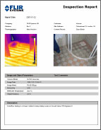 FLIR Quick Report Software Format